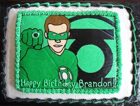 green lantern cake - Google Search