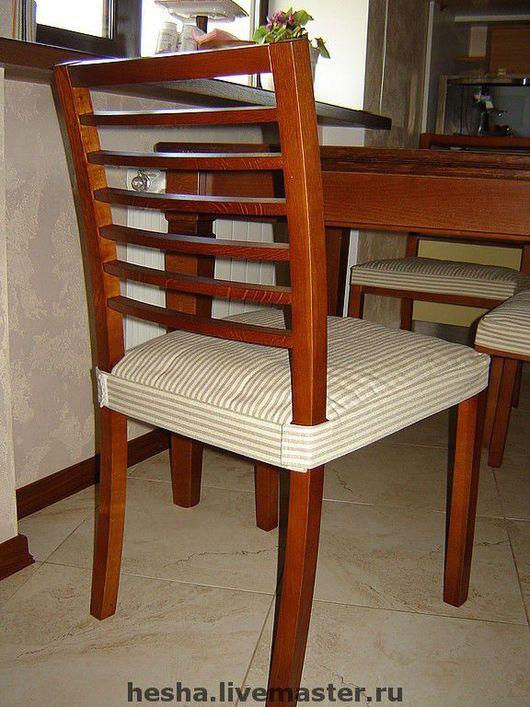 Кухня ручной работы. Ярмарка Мастеров - ручная работа. Купить сидушки на стулья. Handmade. Сидушки, немецкая обивочная ткань