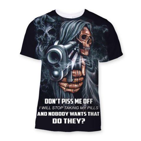 D'ont Piss Me OFF Sublimation T-Shirt