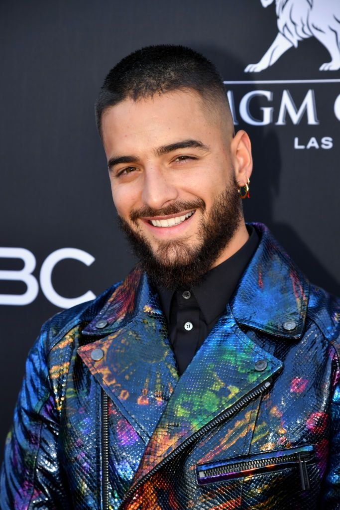 Maluma attends the 2019 Billboard Music Awards at MGM Grand Garden. Mgm Grand Garden Arena, Billboard Music Awards, Maluma Style, Maluma Pretty Boy, Beard Haircut, Latin Artists, Latino Men, Elegant Man, Perfect Boy