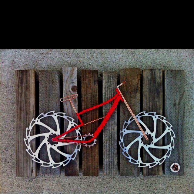 Arte de bicicletas
