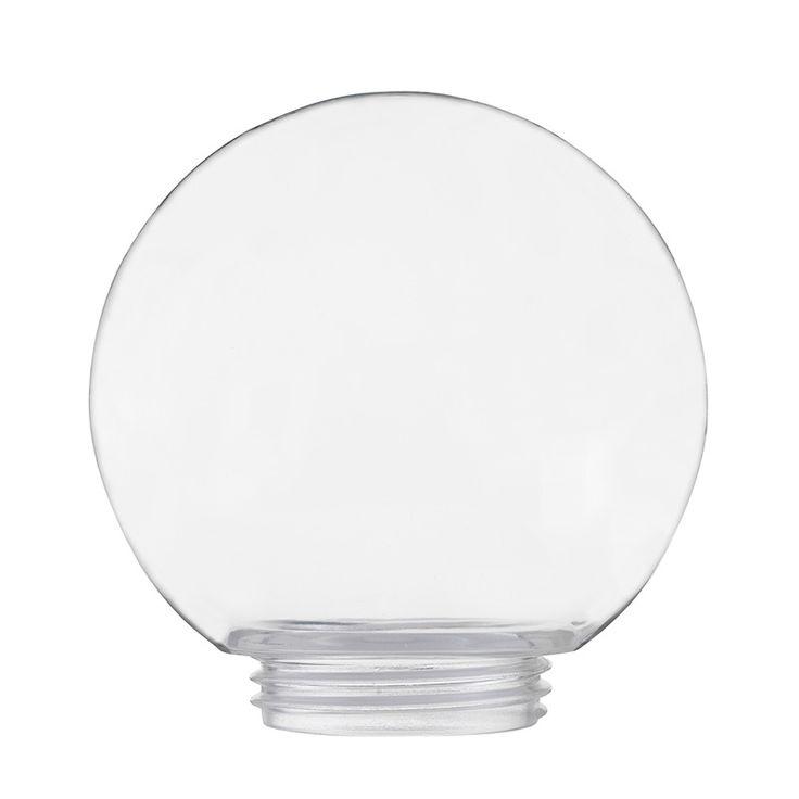 Klassisk glaskupa i klarglas med diameter 150 mm till porslinssocklar.I vårt sortiment finnsvita och svarta socklar tillsammans med kupor i flera storlekar i matt opalglas, blankt opalglas eller klarglas. IFÖ Electrics porslinsarmaturer med glaskupor passar såväl inomhus som utomhus.
