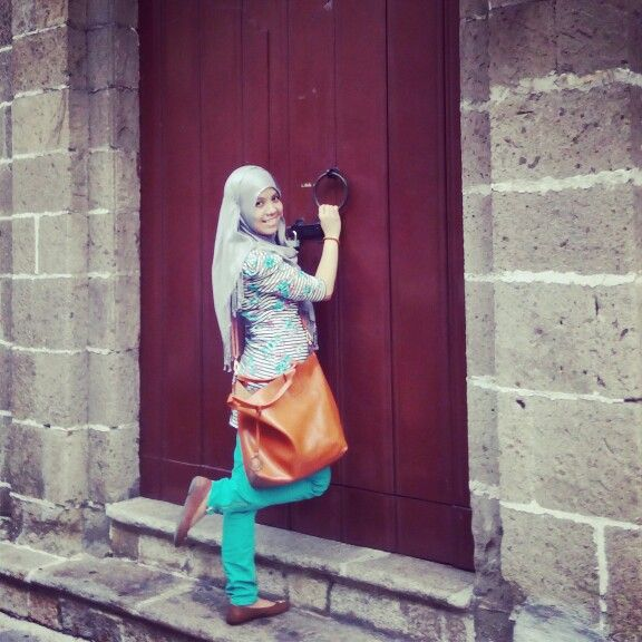 simply hijab outfit