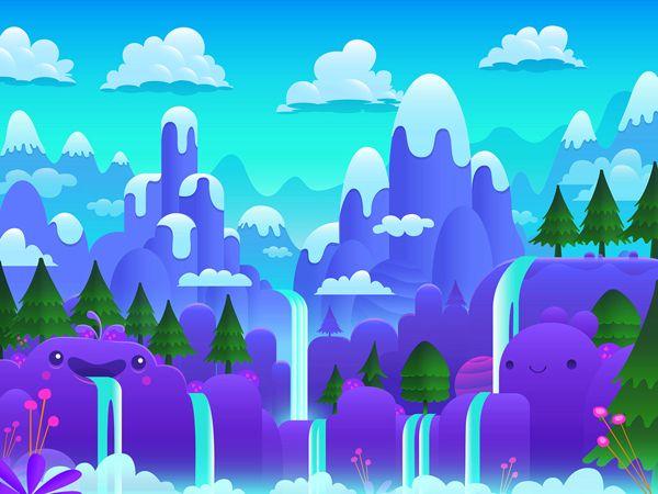 https://www.behance.net/gallery/12637999/Blob-Monsters-iOS-game