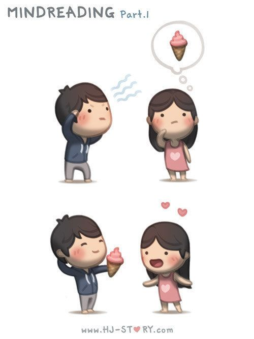 Love Is... Illustrations from HJ-Story