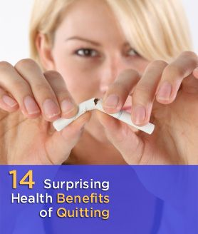 What happens when you quit smoking? Benefits occur 20 minutes after your last cigarette!