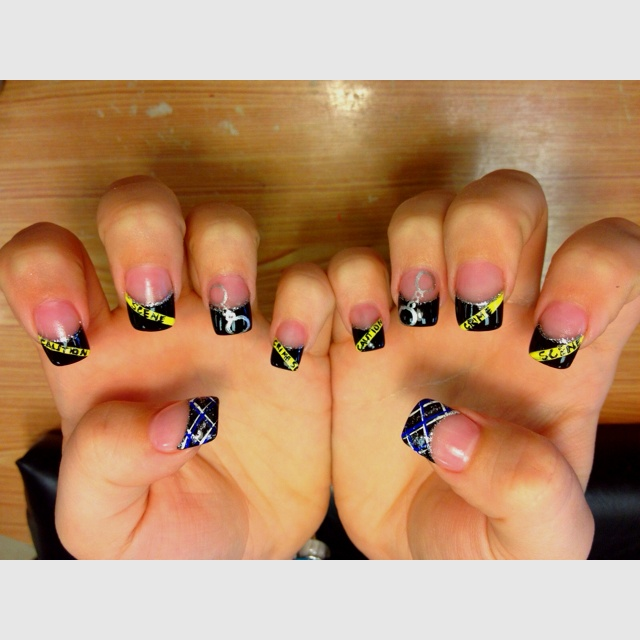 59 best Nail Art BREAST CANCER AWARENESS images on Pinterest ...