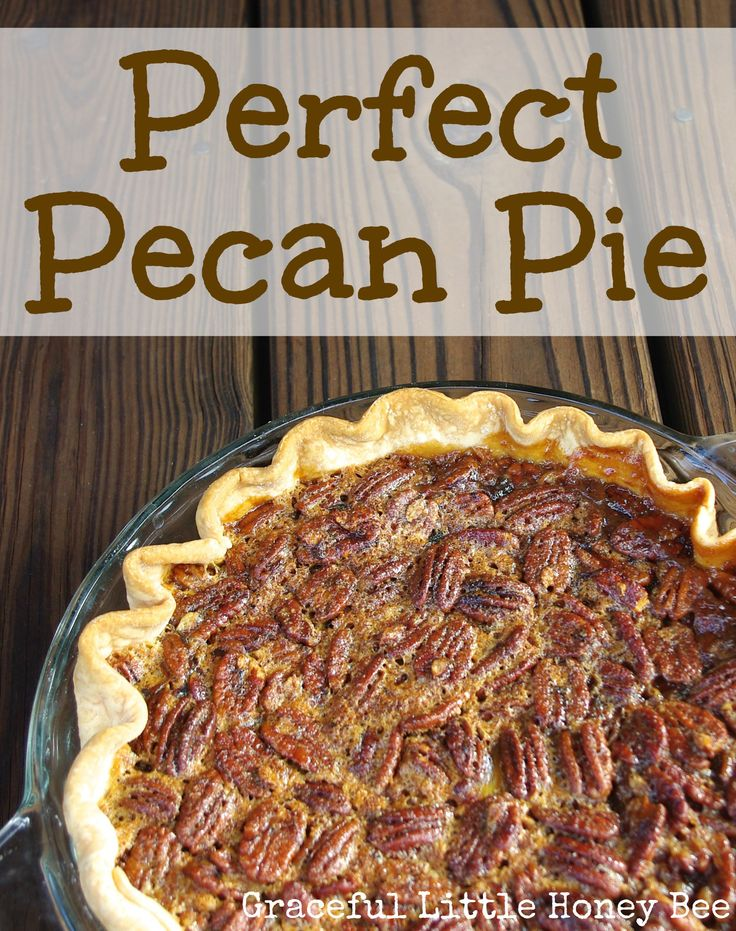 Follow me on Instagram for more tips, tricks and recipes!  I'm normally in charge of pies for Thanksgiving dinner, but each year I seem to forget what recipe I used the year before. Well this year I can tell you that I've found a pecan pie recipe that I definitely won't forget.It was soooo …