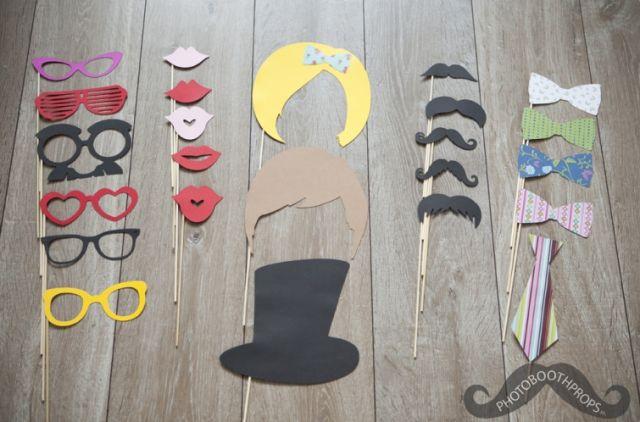 Gespot: props voor in je photobooth   ThePerfectWedding.nl