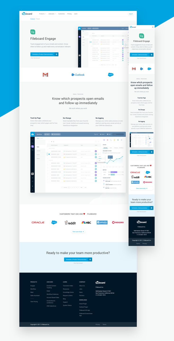 This is a SaaS product designed to help sales teams share and track sales presentations and collateral. --- Full Review on Behance --- I'm accepting new interesting projects!