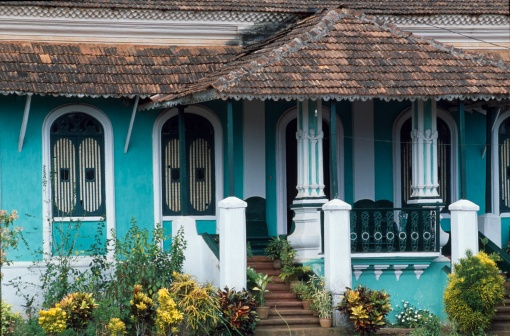 The lovely houses of Goa