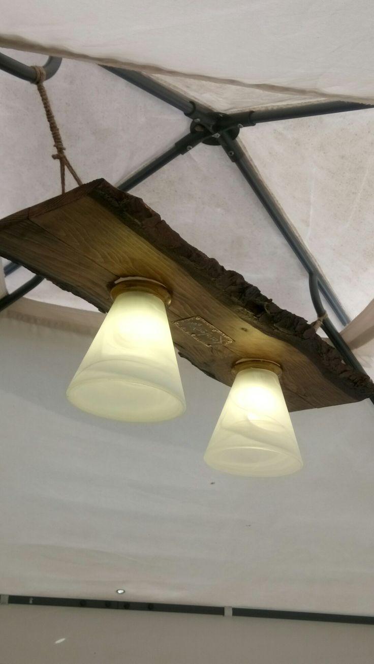 Illuminazione rustica