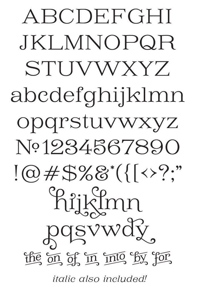 Brioche Font by Jessica Hische