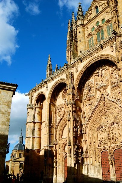 Salamanca ... great University town. Everyone should consider this for their college student's semester abroad.