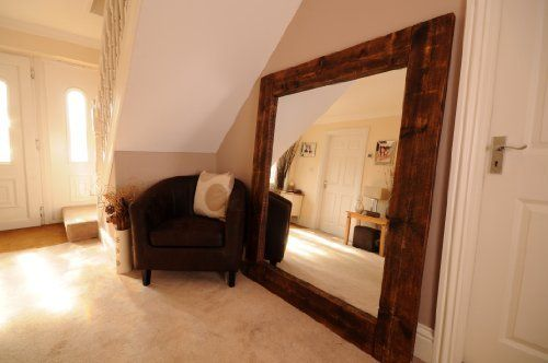 Pin By Emma Pye On Mirrors Large Wooden Mirror Mirror