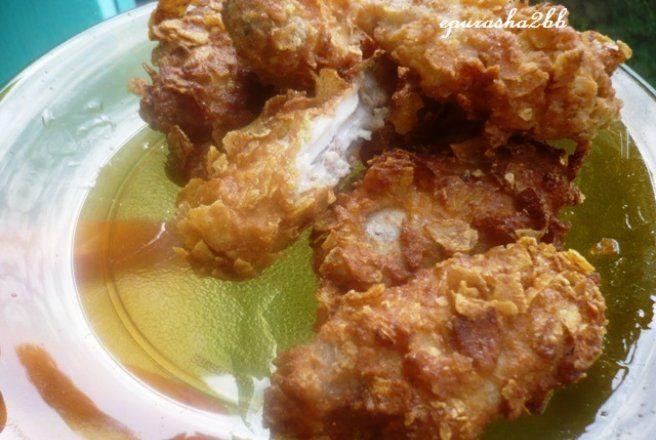 Retete Culinare - Aripioare crocante a la KFC