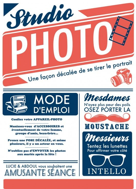 MDE photobooth pour le mariage