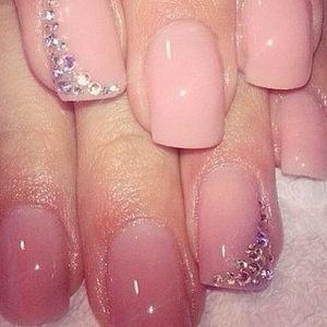 Sparkly finger tips...