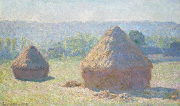 Claude Monet, Haystacks, end of Summer, 1891, Musée d'Orsay