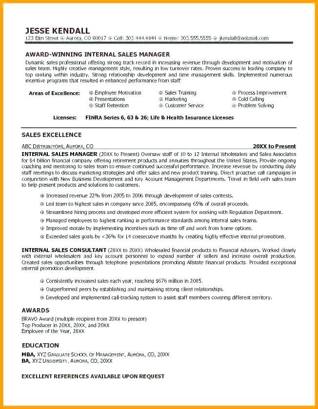71 Beautiful Gallery Of Example Of Resume Awards