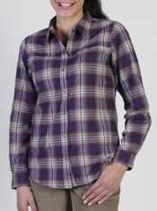 The Windrose Plaid flannel features a hollow yarn to keep you warm and cozy. ...