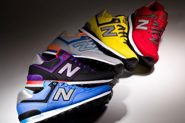 New Balance 574 'Windbreaker' Pack Spring/Summer 2013  http://www.facebook.com/DressShoesandSneaker  http://dressshoesandsneakers.tumblr.com/