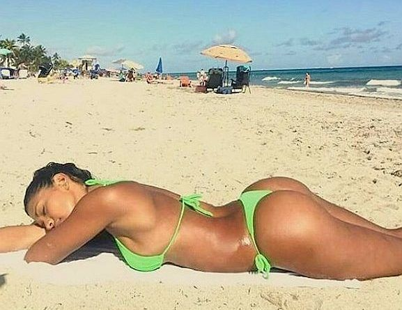 Winifer fernandez bikini