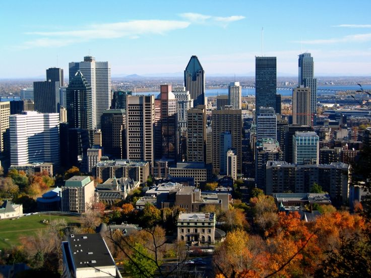 """My current """"I really want to visit..."""" this week is... Montreal, looks beautiful."""