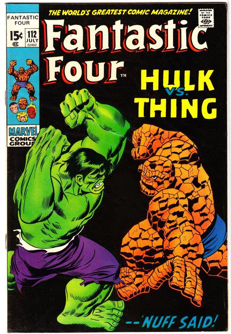 Fantastic Four (1961) No. 112