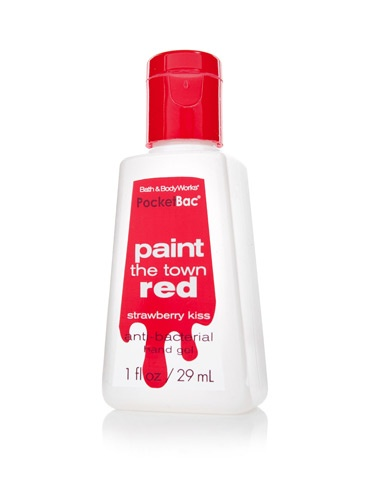 Bath & Body Works Anti-Bacterial PocketBac Sanitizing Hand Gel in Paint the Town Red $1.50