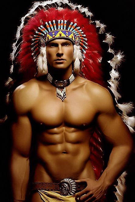 Musclevision  Native American  Native American Men -9210