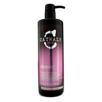 Tigi Catwalk Headshot Reconstructive Shampoo For Chemically Treated Hair  750ml2536oz >>> Read more  at the image link.