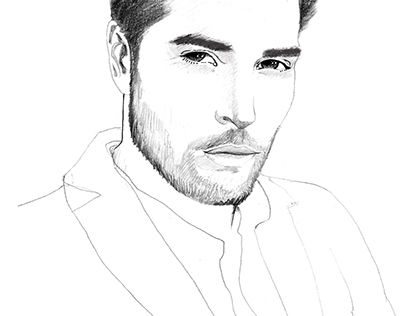 "Check out new work on my @Behance portfolio: ""NICK BATEMAN PORTRAIT"" http://on.be.net/1NTBRmn"