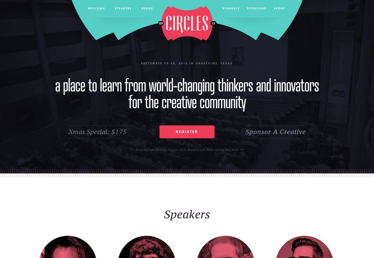 Circles: A Creative Conference - Inspire. Create. Repeat