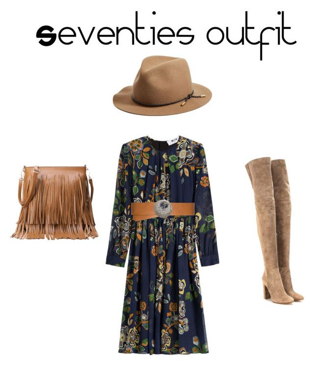Outfit de Otoño by amparo-calbacho on Polyvore featuring polyvore, fashion, style, MSGM, Gianvito Rossi, rag & bone and clothing