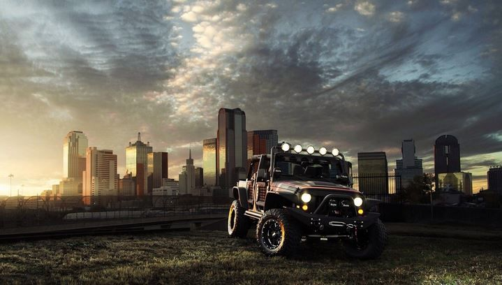 Jeep never ending
