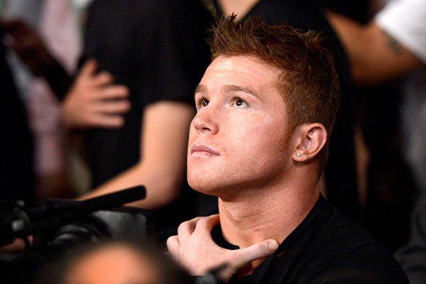 Canelo Alvarez...mexican boxer.  look at that jaw of his!