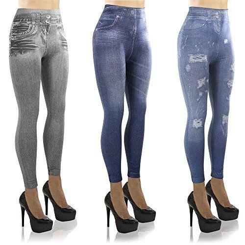 LeJeans - Lot de 3 jeggings