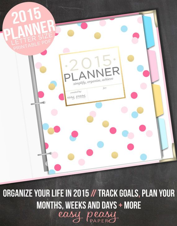 Check out a few apps to help get organized for 2015.#easypeasypaper #etsy #getorganized