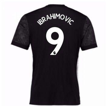 Manchester United Zlatan Ibrahimovic 9 Bortatröja 17-18 Kortärmad  #Billiga #fotbollströjor