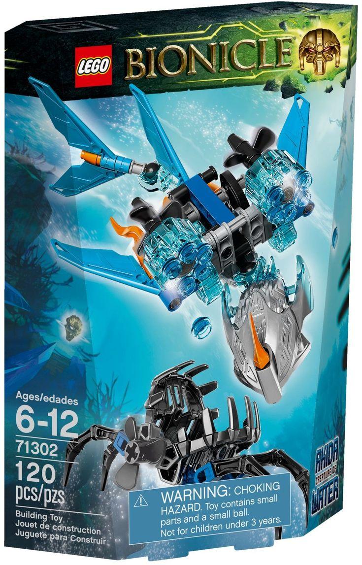 71302-1: Akida - Creature of Water | Brickset: LEGO set guide and database