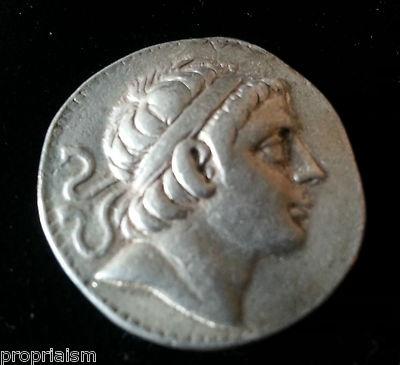 SELEUKID KINGS of SYRIA. Antiochos III AR Drachm.223 BC Silver