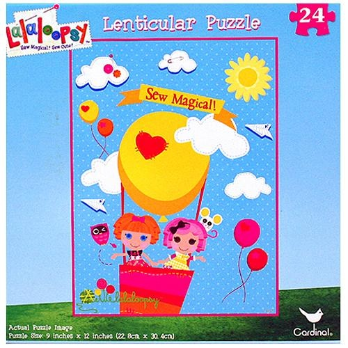 Lalaloopsy 24-Piece Lenticular Puzzle [Sew Magical!]$8.99