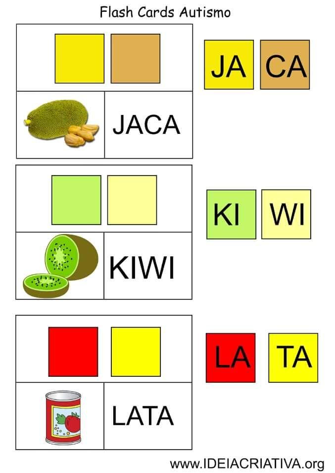 Flash cards autismo 5