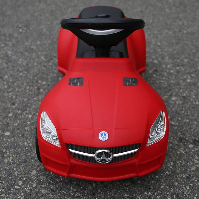 Mercedes SLK 55 AMG Foot To Floor #Car, #Fun, #Red, #Toy