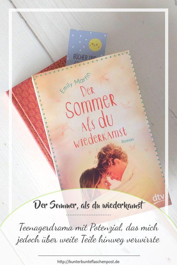 """Rezension und Podcast zum Jugendbuch """"Der Sommer, als du wiederkamst""""."""