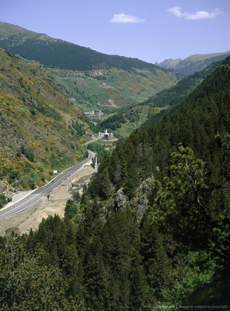 Andorra is a small landlocked principality or country in southwestern Europe, bordered by Spain and France. It is a tax haven, and popular tourist destination. The mountain landscape of the Pyrenees is a rich wildlife habitat, and area of great natural beauty.