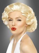 Marylin Monroe Perücke für ein elegantes Filmstar aussehen.