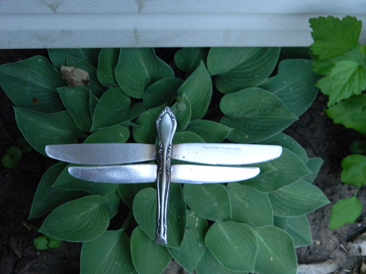 Silverware Studio Garden Art!
