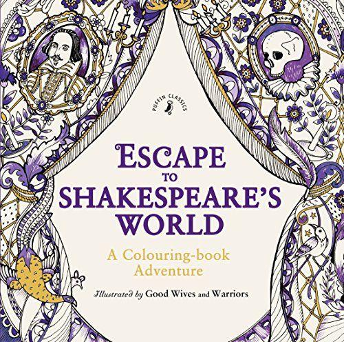 Hamlet, MacBeth, der Kaufmann aus Venedig, König Lear - coloriere deine Lieblingsfiguren in diesem wunderschönen Shakespeare Malbuch für Erwachsene! Malbücher sind ein toller Trend, und dieses überzeugt auch durch bekannte Zitate & etwas tiefgründigeren Inhalt.